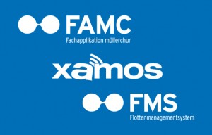 müllerchur Fachapplikation müllerchur FAMC Xamos mobile Zeit und Leistungserfassung Flottenmanagementystem FMS