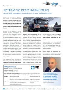 FMS rapport d'expérience