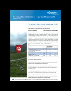TVA taxe sur la valeur 2019