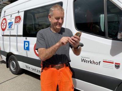Mobile Rapportierung – Xamos im Werkhof Aarau